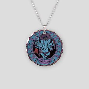 Ganesh Dancer Necklace Circle Charm