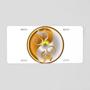 Zen Dragons Aluminum License Plate