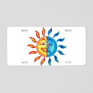 BiPolar Solar Aluminum License Plate