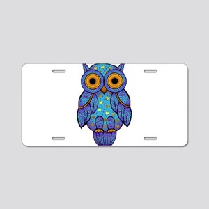 H00t Owl Aluminum License Plate