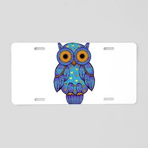 H00t Owl Aluminum License Plate