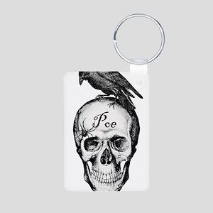 Raven Poe Aluminum Photo Keychain