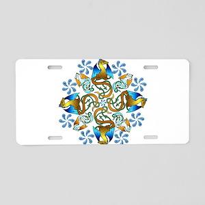 Bornholm Blues Aluminum License Plate