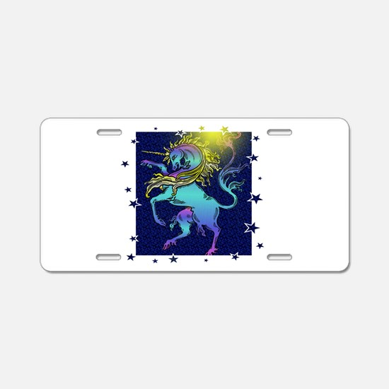 Unicorn Standard Aluminum License Plate