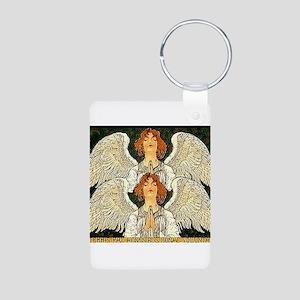 Pax Angel Aluminum Photo Keychain