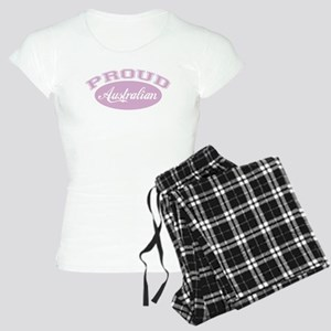 Proud Australian (pink) Women's Light Pajamas
