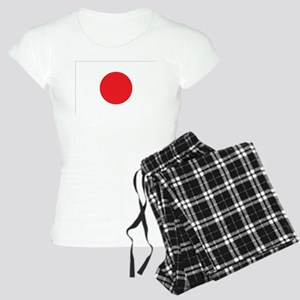 Japanese Flag Women's Light Pajamas