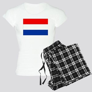 Dutch (Netherlands) Flag Women's Light Pajamas