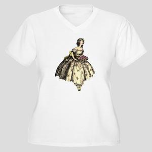 Tiny Dancer Women's Plus Size V-Neck T-Shirt