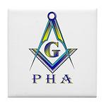 Masonic Prince Hall Tile Coaster