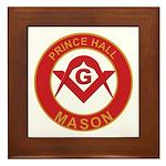Masonic Prince Hall Framed Tile