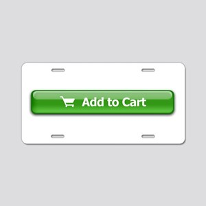 Add To Cart Aluminum License Plate