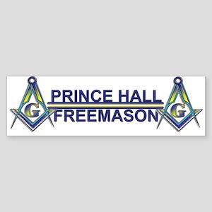 Prince Hall Mason Bumper Sticker