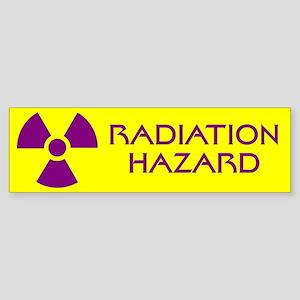 Radiation Hazard Sticker (Bumper)