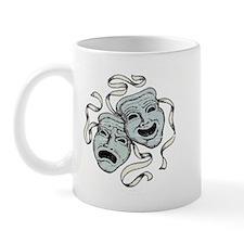 Vintage Comedy Tragedy Mask Mug