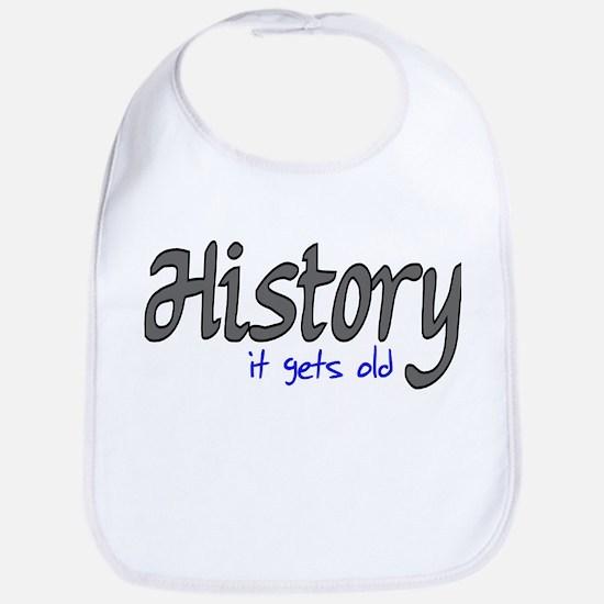 History It Gets Old Anti-Soci Bib