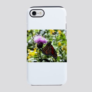 Butterfly on a wildflower. iPhone 7 Tough Case