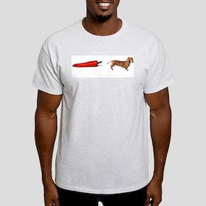 Chili Dog Ash Grey T-Shirt