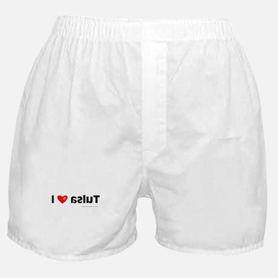 Krazy Irish - I Heart Tulsa Boxer Shorts
