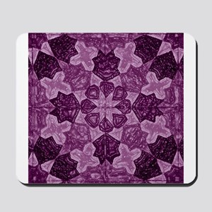 Abstract 1 (Violet) Mousepad
