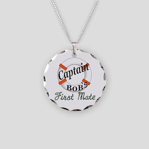 Captain Bob's Necklace Circle Charm