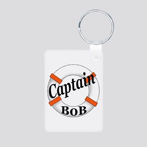 Captain Bob's Aluminum Photo Keychain