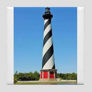 Cape Hatteras Lighthouse. Tile Coaster