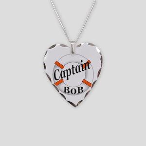 Captain Bob's Necklace Heart Charm