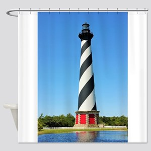 Cape Hatteras Lighthouse. Shower Curtain