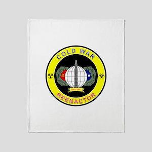 COLD WAR REENACTOR Throw Blanket