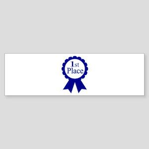 """1st Place"" Bumper Sticker"