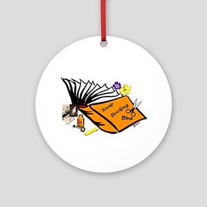 SCRAPBOOKING DIVA Ornament (Round)