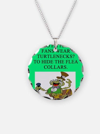 anti pittsburgh fan joke Necklace