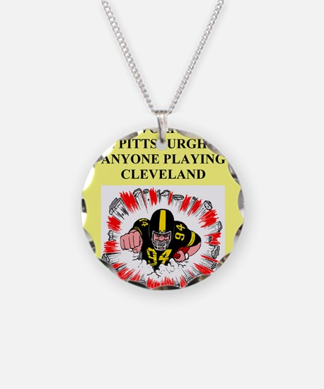 steeler gifts and t-shirts Necklace