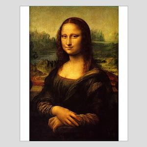 The Mona Lisa Small Poster
