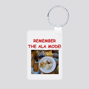 pie lover joke Aluminum Photo Keychain