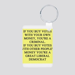 anti-democrat gifts t-shirts Aluminum Photo Keycha