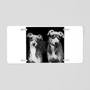 Weird Dogs Aluminum License Plate