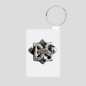 Drive Shaft Aluminum Photo Keychain