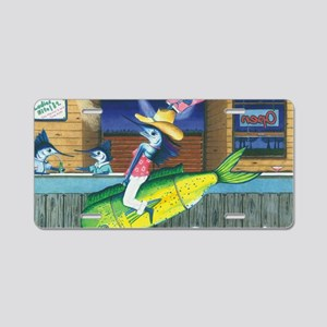 Trixie Rodeo Aluminum License Plate
