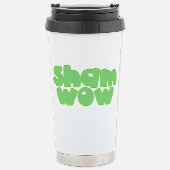 Sham Wow Stainless Steel Travel Mug