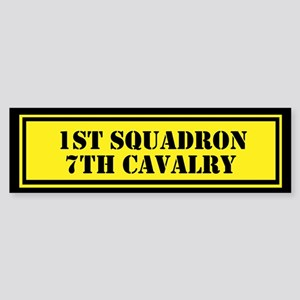 1st Squadron 7th Cavalry Sticker (Bumper)