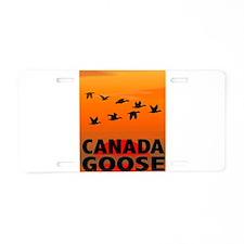 Canada Goose Aluminum License Plate