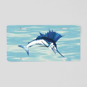Sailfish Aluminum License Plate