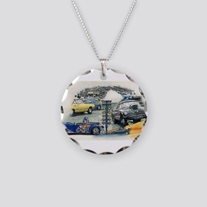 Drag Race Stuff Necklace Circle Charm