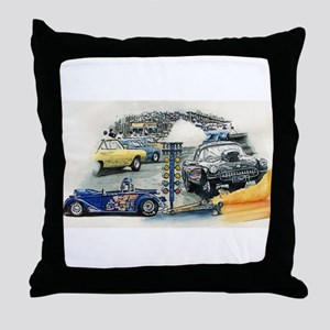 Drag Race Stuff Throw Pillow