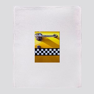 Checker Cab No. 8 Throw Blanket