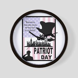 Patriot Day 911 Wall Clock