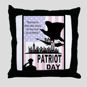 Patriot Day 911 Throw Pillow