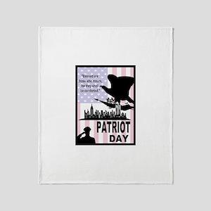 Patriot Day 911 Throw Blanket